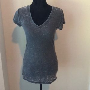 Z Supply grey v neck t shirt